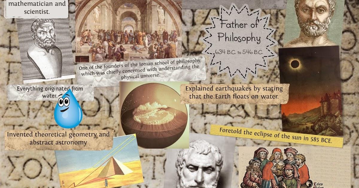 صور من هو طاليس , اشهر العلماء الفلكين فى العالم