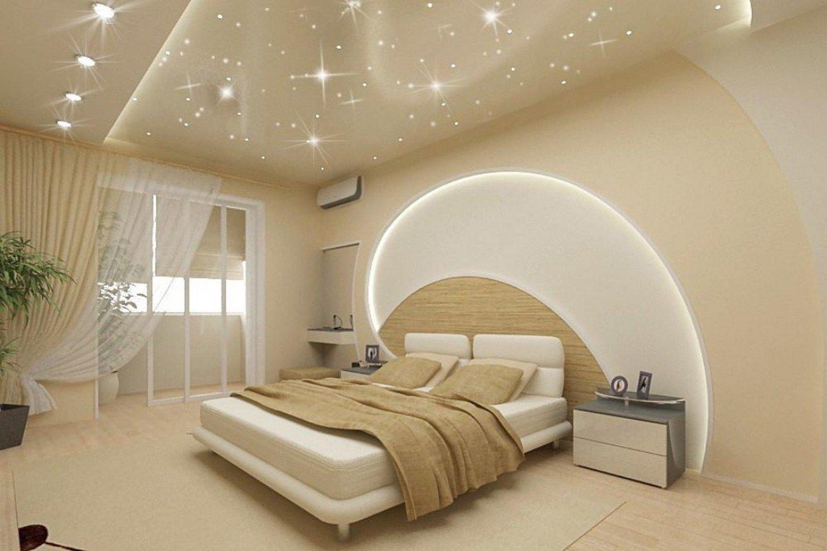صورة جبس بورد غرف نوم , تزين البيت بالجبس بورد