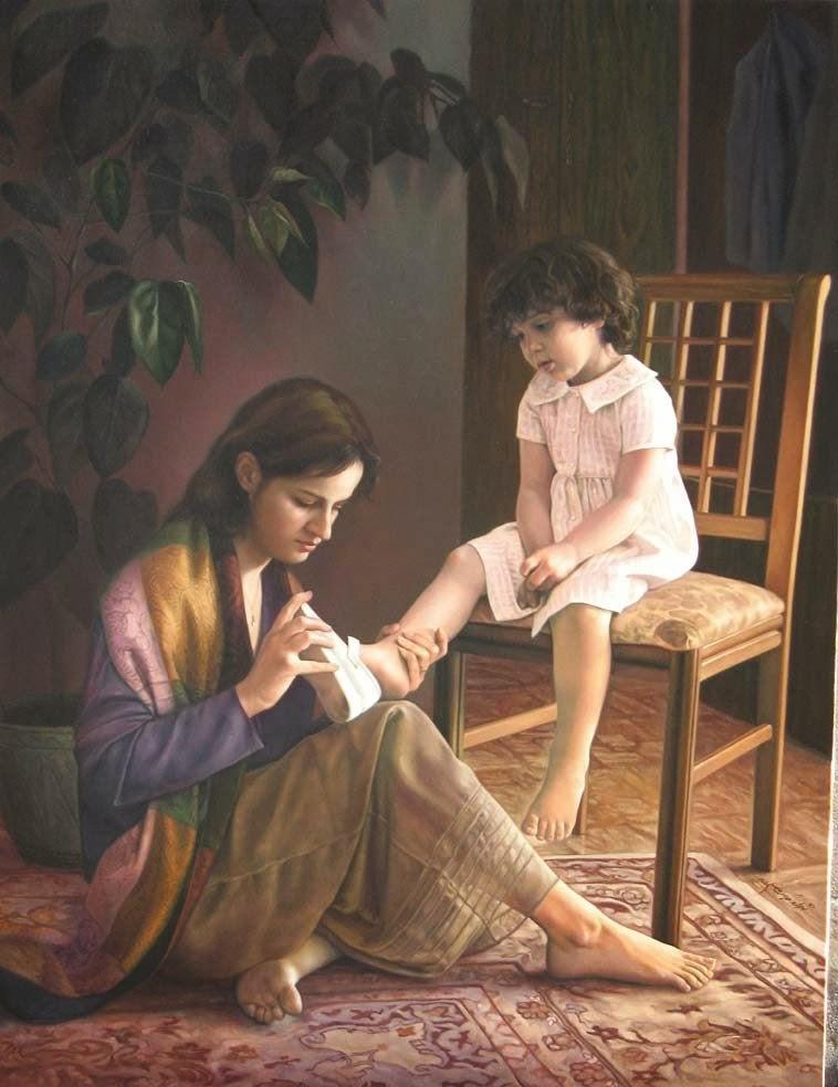 صور صورة تعبر عن حنان الام , صور جميلة تعبر عن الحب و الحنان من الام
