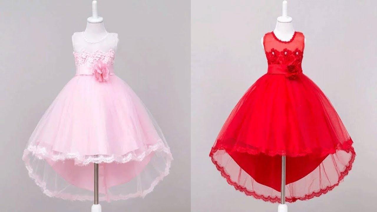 صورة صور بدلات بنات , اجمل الفساتين السوراية للبنات الصغيرة 1258 7