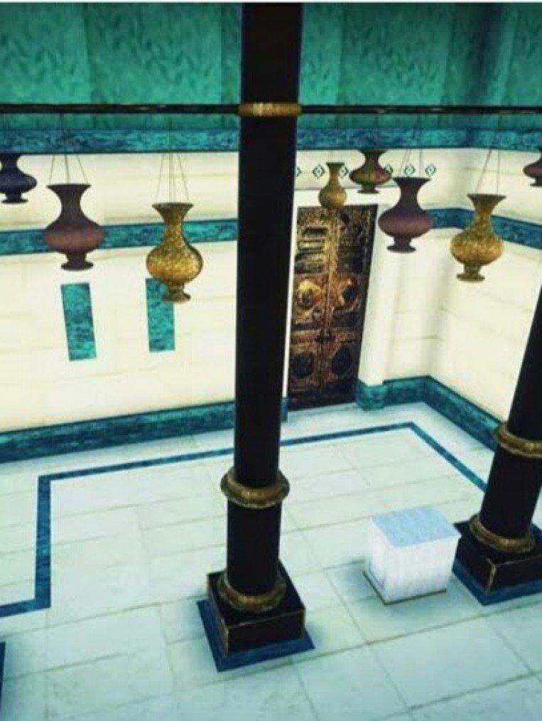 صور صورة الكعبة من الداخل , اجمل المناظر من داخل الكعبة بالصور