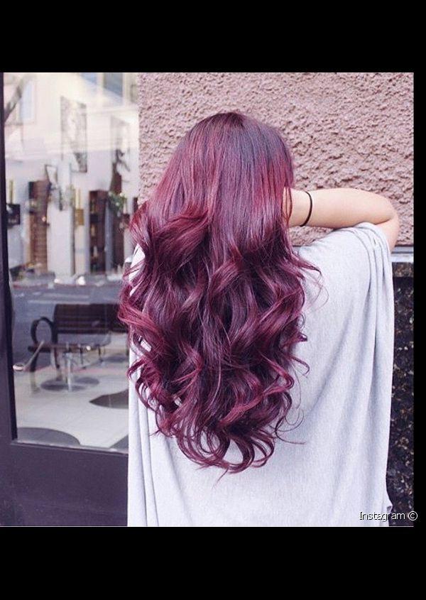 صور صبغة احمر برغندي بالصور , اجمل انواع صبغات الشعر باللون الاحمر بالصور