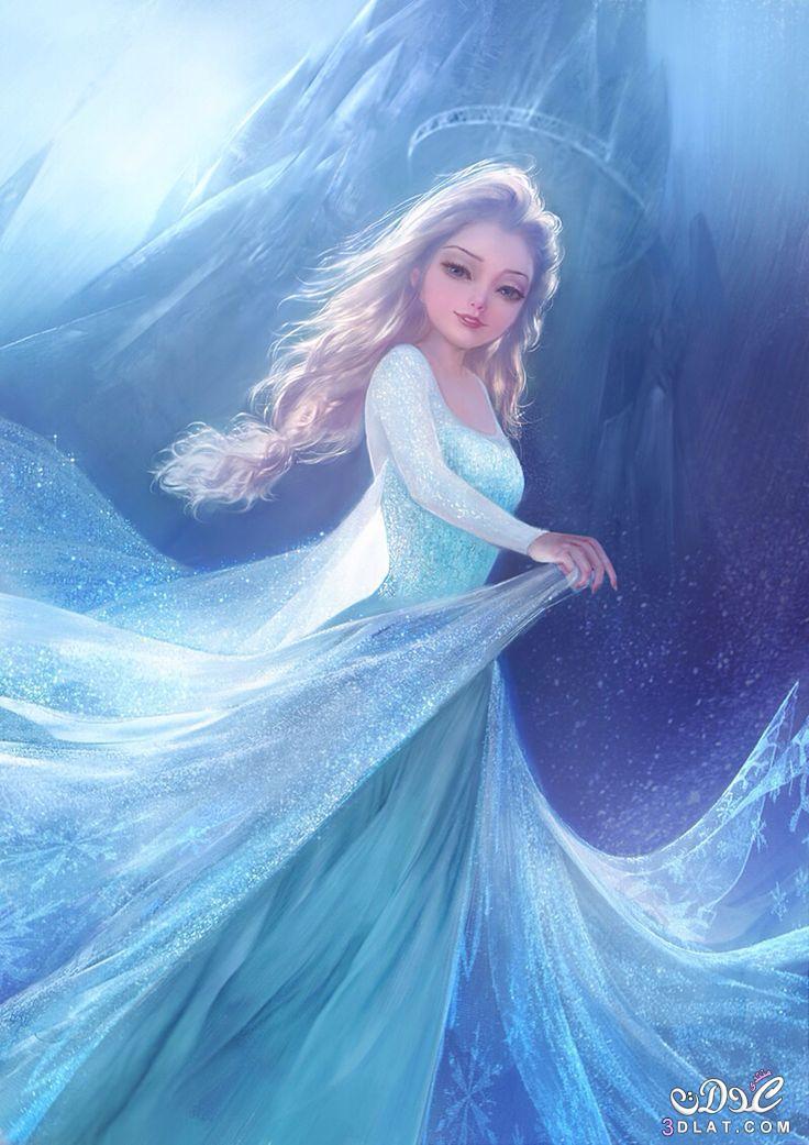صورة صور لملكة الثلج , اجمل الصور لشخصية ملكة الثلج الكرتونيه
