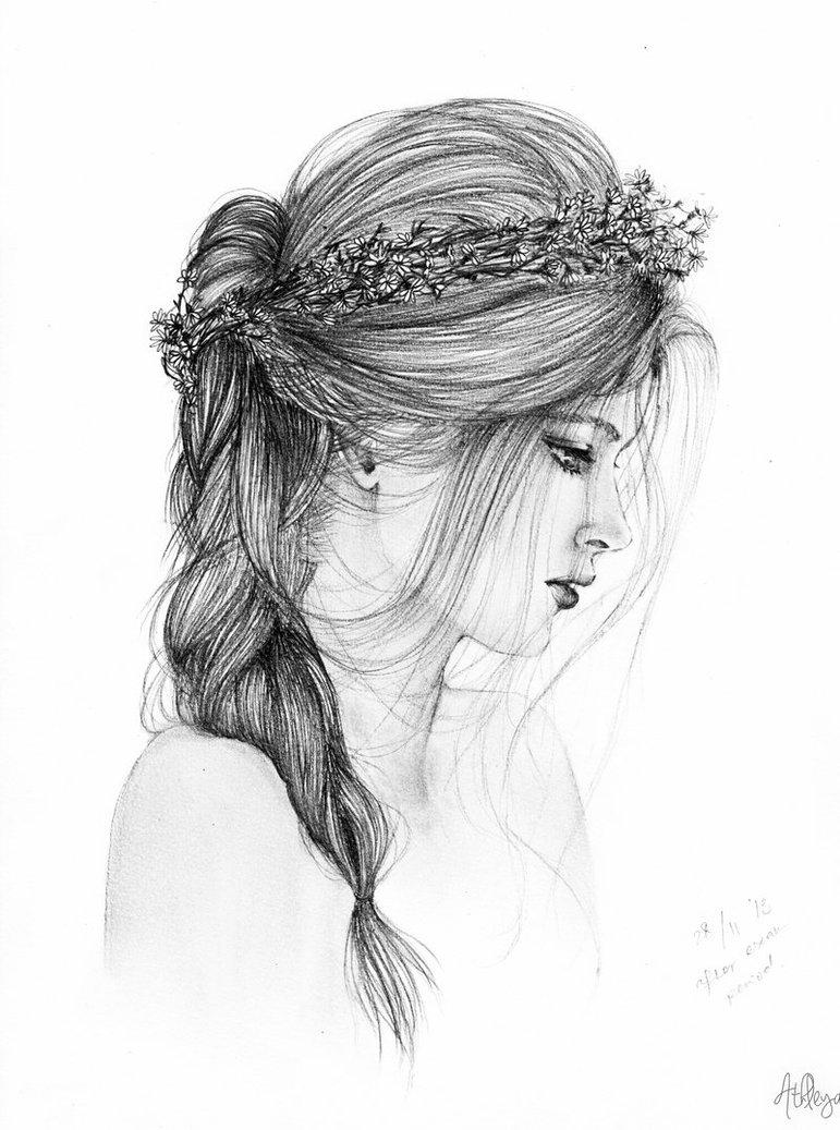صورة رسومات بنات صور مرسومه , اجمل البنات بالرسومات بالصور