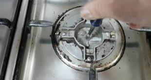 صورة طريقة تنظيف عيون الغاز بالصور , كيف انظف عيون الغاز
