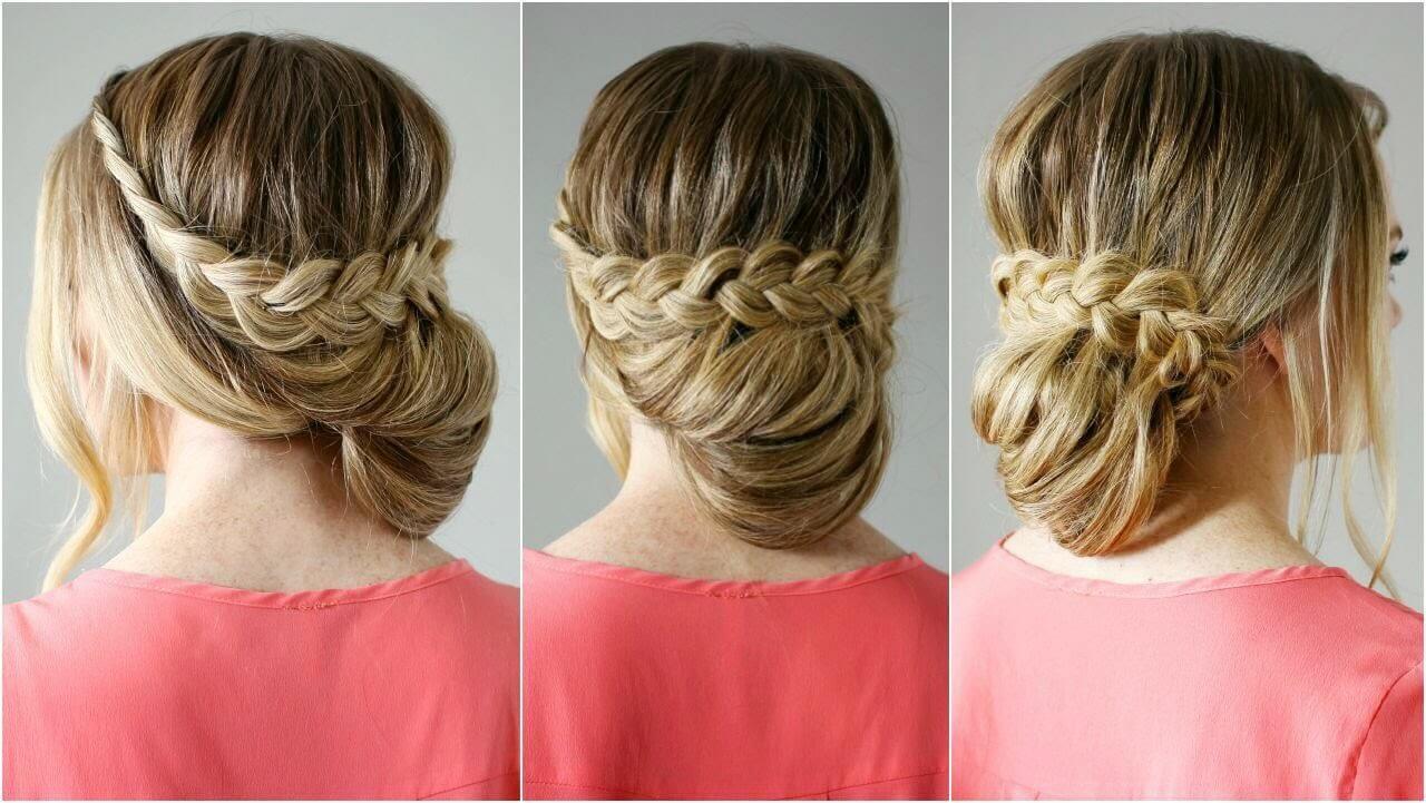 صورة تسريحات بنات للمناسبات , تسريحات جذابه شعرك