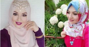 صورة احدث لفات حجاب , شاهدي كيفيه لف حجابك باحدث الطرق