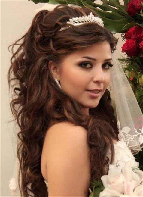 صورة تسريحات زواجات ناعمه , لو انتي عروسة شوفي التسريحات دي