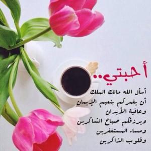 صورة رسائل الصباح والمساء للحبيب , يسعد صباحك ومسائك يا حبيبي
