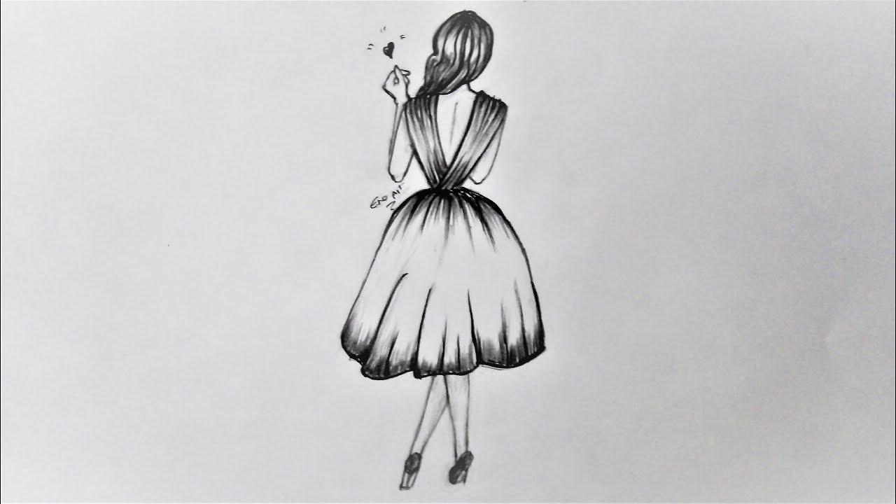 صورة رسم بالرصاص سهل , صور مرسومة بالقلم الرصاص