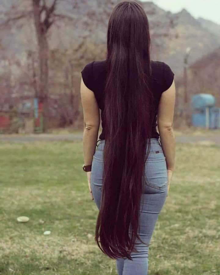 صورة بنت شعرها طويل , صبية شعرها يهبل