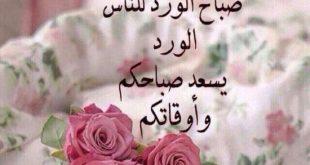 صورة صباح الورد و الفل و الياسمين , احلي صباح علي عيونك يا حلو