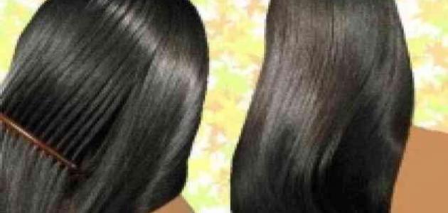 صورة خلطة لتنعيم الشعر وتطويله , حلم حياتي شعري يكون ناعم