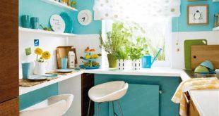 صورة تزيين المطبخ باشياء بسيطة , تجديد المطبخ بارخص الاشياء