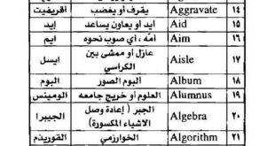 صورة كلمات انجليزية اصلها عربي , تعرف علي اشهر كلمات انجليزيه اصلها عربي