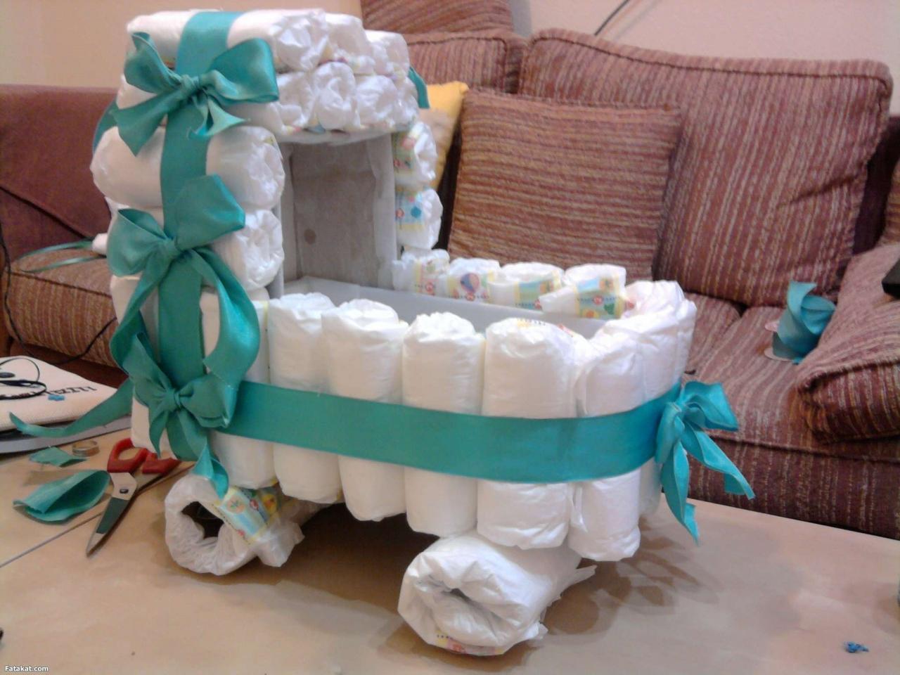 صورة هدية المولود الجديد , افكار روعة لهدايا البيبى