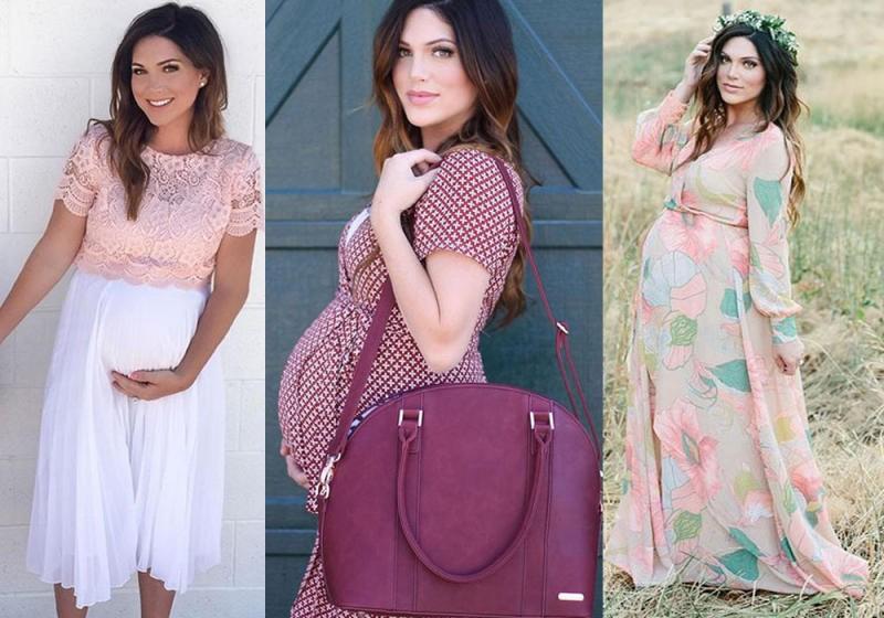 صورة ملابس حوامل في الاردن , لكل حامل شيك