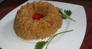 صورة طريقة عمل ارز السمك البني بالصور , الارز الصيدية بالمقادير