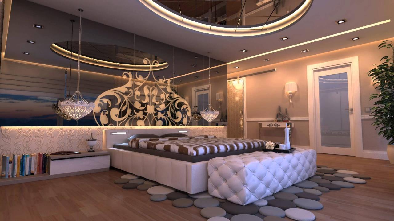 صورة افخم غرف نوم للعرسان , الراحة في غرفة النوم