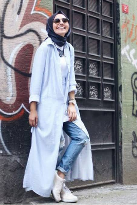 صورة ملابس ستايل للمحجبات , كولكشن ليكي مناسب لحجابك