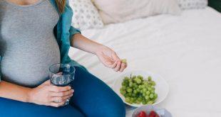 صورة فوائد العنب للحامل والجنين , فاكهة العنب للمراة الحامل