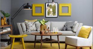 صورة صور ديكورات داخلية , ديكورات باللون الاصفر