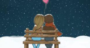 صورة صور رومانسيه كرتونيه , قلبي وروحي معاك