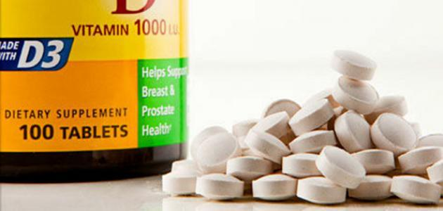 صورة حبوب فيتامين د , فوائد فيتامين د للكبار والصغار