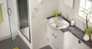 صورة ديكورات الحمامات الصغيرة , لو حمامك صغير تعالي هنا