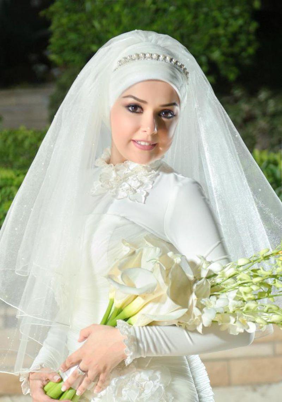 صورة لفات طرح عروسة , لفات كاجول جديدة