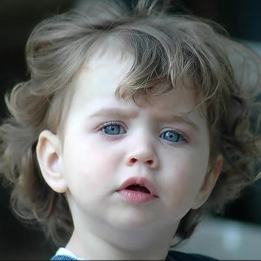 صورة صور اطفال بعيون زرقاء , احلى عين زرقا فى الدنيا