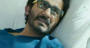 صورة مرض احمد حلمي , اصابة الفنان المصري بمرض