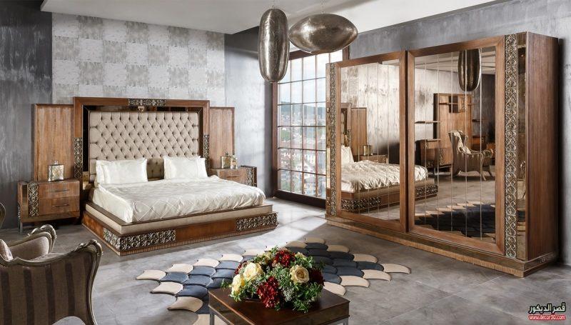 صورة اشكال غرف نوم , غرف عرايس باشكال مختلفة