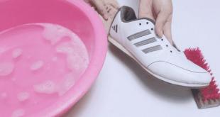 صورة تنظيف الاحذية الرياضية , ازاي انضف حذائي