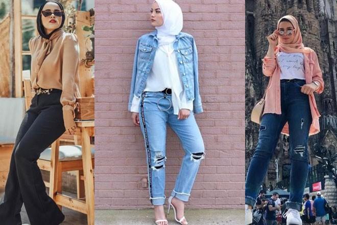 صورة ملابس فتيات محجبات , لبس راقي جدا ومحتشم