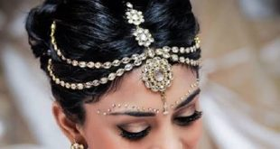 صورة اكسسوارات شعر هنديه , زيني شعرك باكسسوارات