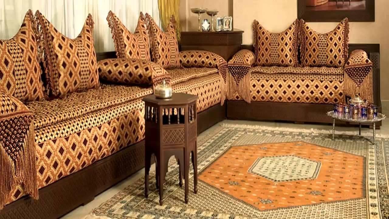 صورة مجالس مغربية فخمة , صالونات علي الشكل المغربي