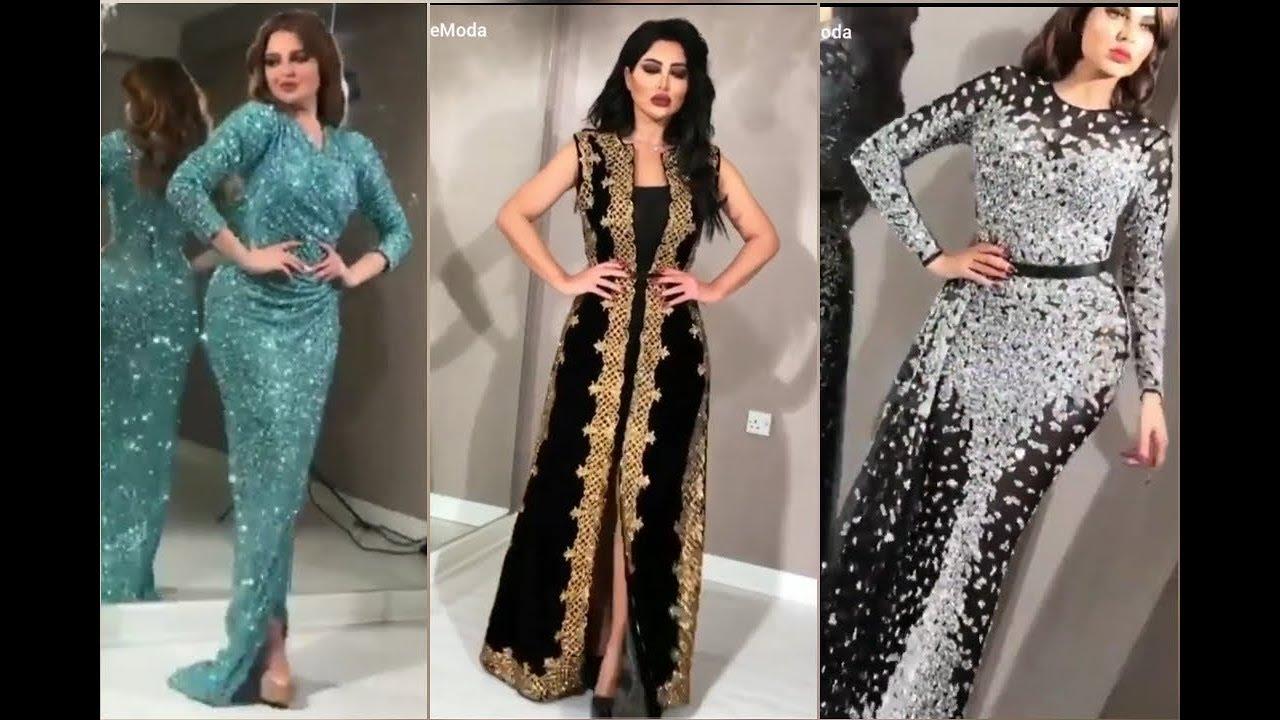 صورة احلى فساتين السهرات , فستان سهرة رائع الجمال