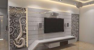 صورة ديكور جدران بالجبس , تصميمات حلوة اوي للجدران