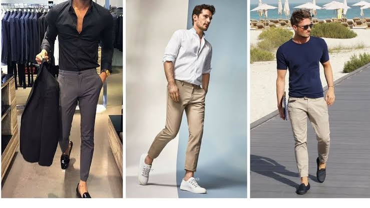 صورة ملابس رجالي كاجوال , موديلات 2019 للرجال