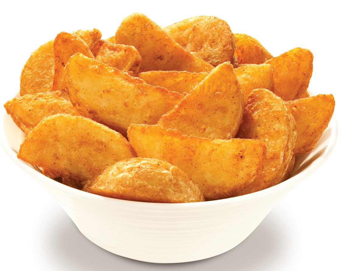 صورة طريقة عمل بطاطس ودجز , الذ بطاطس شرائح في الفرن