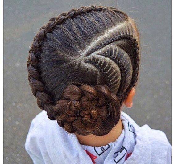 صورة شعر البنات الصغار , اختاري التسريحه التي تليق ببنتك