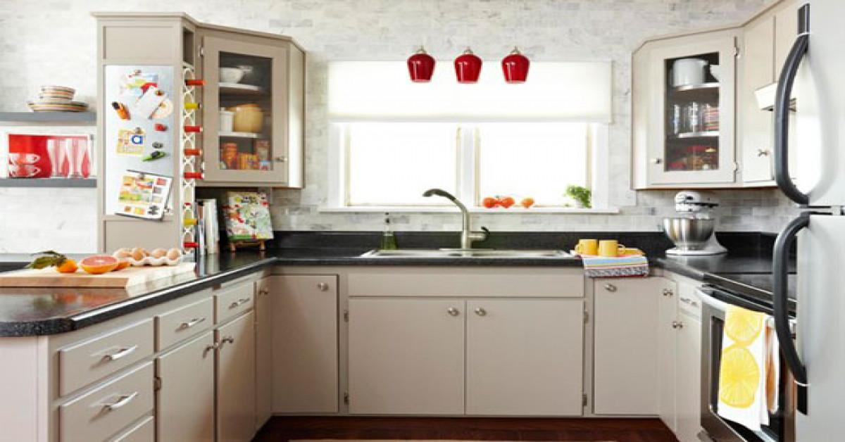 صورة احدث ديكورات للمطابخ , مطبخ مميز في منزلك