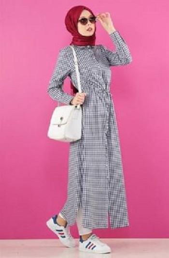 صورة احدث موديلات حجاب , اشيك ملابس للمحجبات