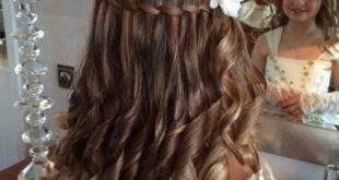 صورة تسريحات بنات صغار للاعراس , اشيك تسريحه شعر للافراح