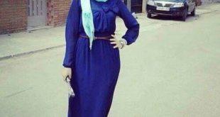 صورة حجابات جزائرية للبنات , اجمل لفة طرح للمحجبات