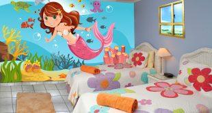 صورة رسم غرف اطفال, ديكورات روعة لغرف الاطفال