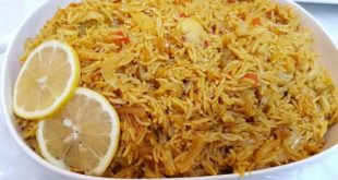صورة طريقة عمل ارز الصيادية, تعلمي كيفية عمل الارز الصيادي