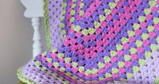 صورة طريقة عمل بطانية اطفال كروشيه بالباترون, اصنعي حاجة اطفالك في منزلك