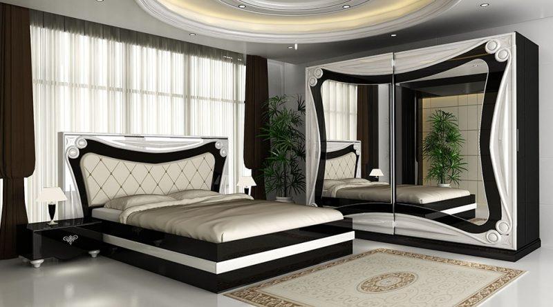 صورة اثاث غرف نوم مودرن, جملي بيتك بغرف شيك وجميلة